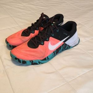 Nike Metcon 2 flywire crazy colour combo